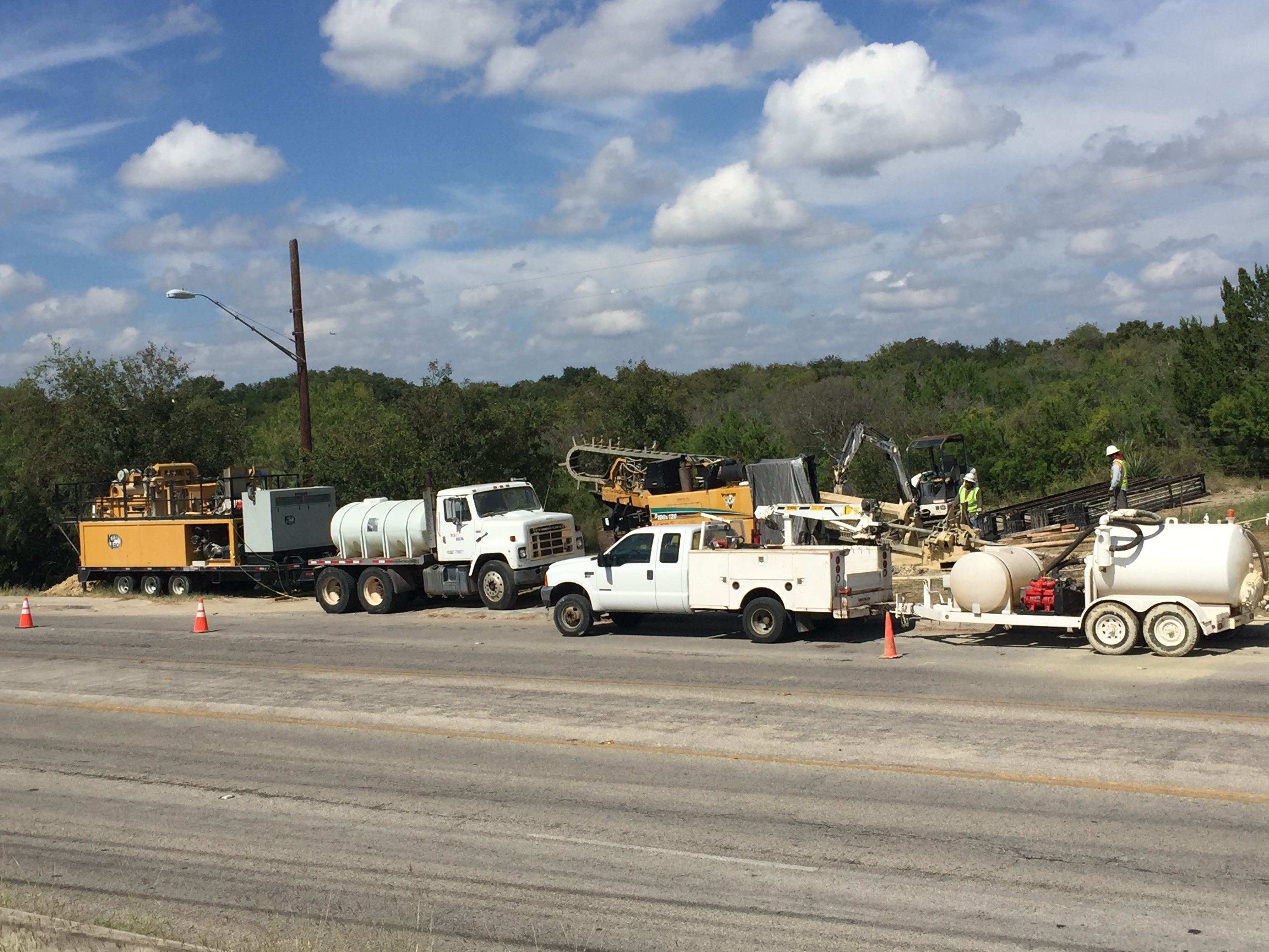 Boring Contractors Project Gallery | Directional Boring Natural Gas Distribution Line Right of Way