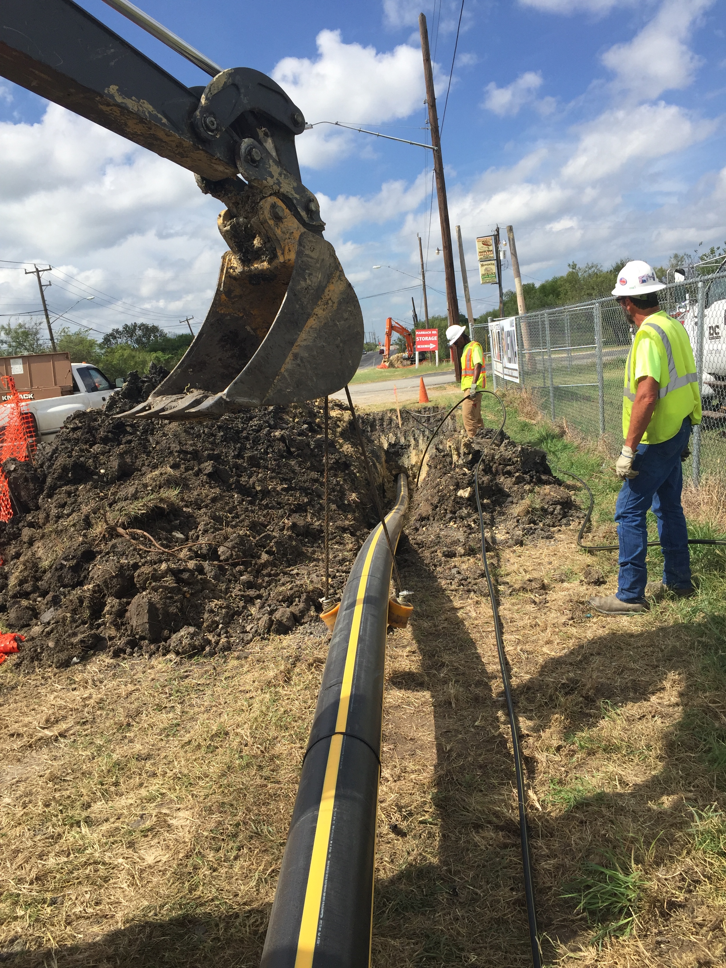 Boring Contractors Oil & Gas | Oil & Gas Pipeline Reconstruction