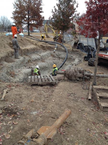 Underground Utility Construction North Dakota