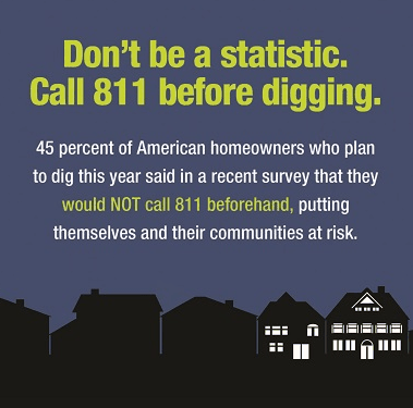 Boring Contractors Contact 811 | Don't Be A Statistic