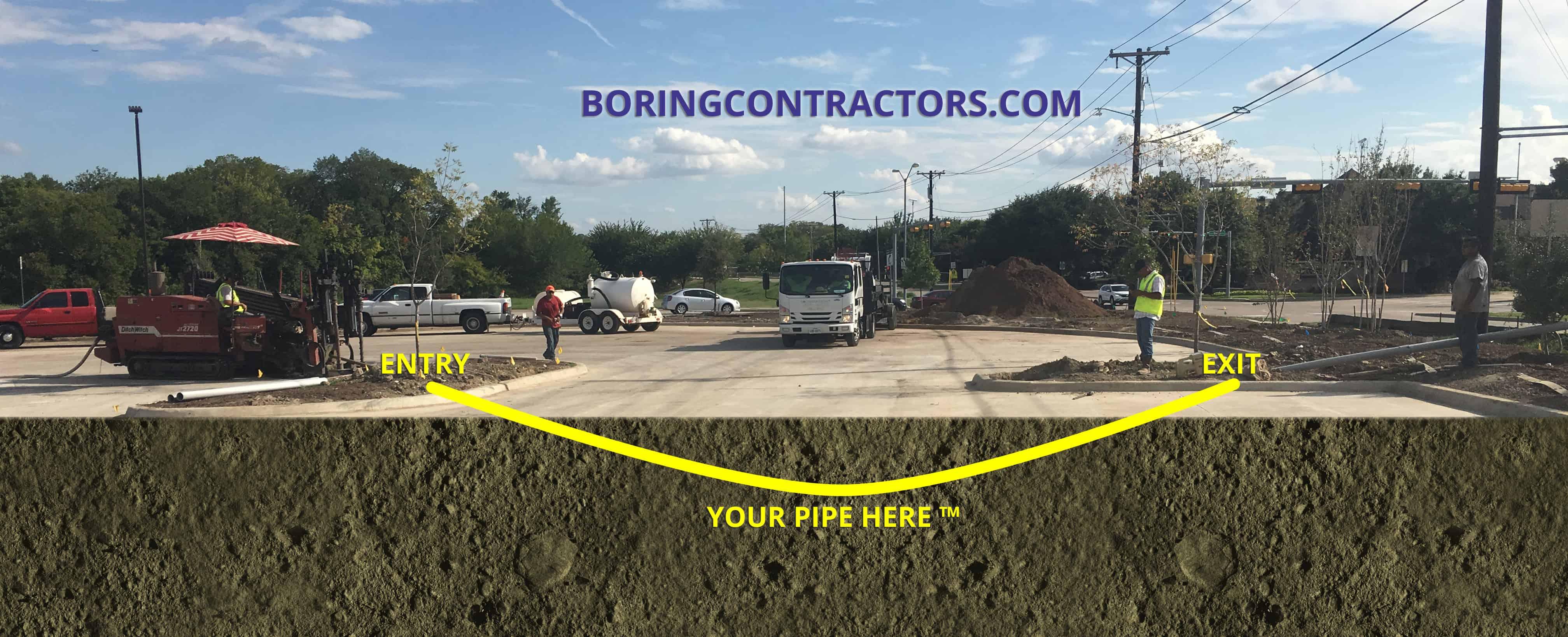 Construction Boring Contractors Lakewood Township, NJ
