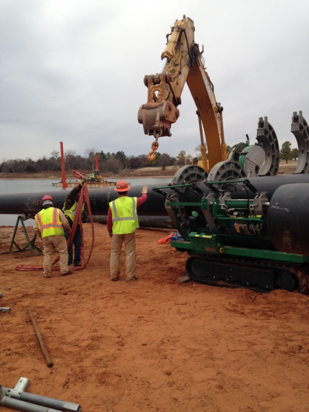 Underwater Utility Directional Bore Sedgwick County, KS