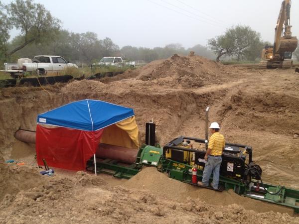 Railroad Auger Bore Travis County, TX